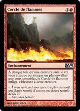 MTG Magic M12 FOIL - Circle of Flame/Cercle de flammes, French/VF