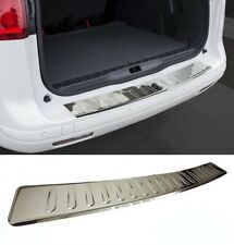 VW Golf MK7 Wagon Rear Bumper Stainless Steel Protector Guard Trunk Cover Chrome