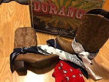 Durango Crush Brown Cowgirl Western Boots DRD0089 Women's Bandana 9M