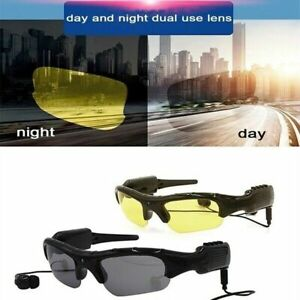 1080P Sunglasses Bluetooth Camera Outdoor Smart Eyewear With Mini DV Recorder
