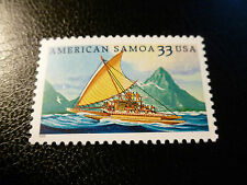 United States Scott 3389, the 33 cents American Samoa stamp Mint