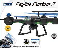 quadricottero RC Rayline Funtom 7 WIFI C 2,4 GHz 4 Canali 6 Assi Giroscopio
