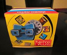 AMAZING VINTAGE RARE STEREO VIEW- MASTER BY TECHNO FILM IN ORIGINAL BOX FROM 70s