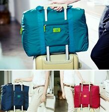 Foldable Waterproof Travel Bag Clothes Organizer Pouch Storage Suitcase Luggage