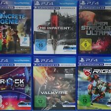 VR Spiele Games Sony Playstation 4 PS4 Spiel Game frei wählbar