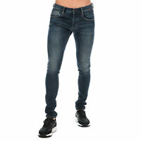 Mens Armani Jeans J35 Skinny Fit Jeans In Denim