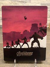 Avengers Age of Ultron Steelbook Blu-ray Only No Digital Art By Matt Ferguson