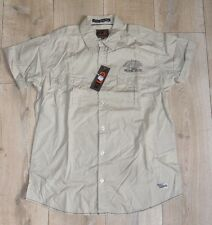 Kilwox Chypre Chemise Manches courtes beige Taille L Rando Nature Campagne