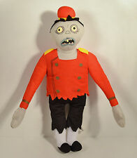 "16.5"" Zombie Bellhop Plush Stuffed Animal Figure Doll 2012 Hotel Transylvania"