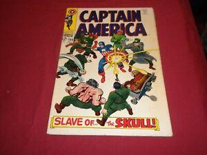 WA1 Captain America #104 marvel 1968 silver age 5.0/vg/fn comic!