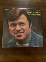 "STEVE LAWRENCE: I Gotta Be Me RCA 12"" LP Still in Shrinkwrap"