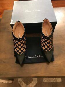 oscar de la renta shoes booties runway never worn immaculate condition au9 EUR40