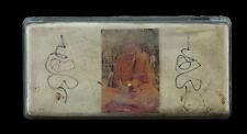 LP Moon Wat Bahnjarn Boite Amulette magique Thai Takrud takrut  Temple 868