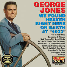 George Jones - We Found Heaven Right Here on Earth at 4033 [New CD]