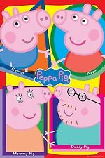 Peppa Pig The Pig Family Poster 92cm x 61cm #10