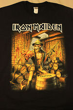 Rare Iron Maiden Tour Shirt - Chicago United Center - April 6, 2016 - Xl T-Shirt