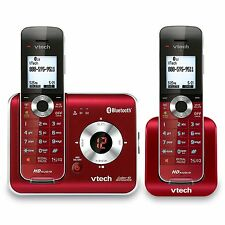 Red Cordless Phone Connect to Cell DS6421-26 Caller ID/call waiting-stores 50cal