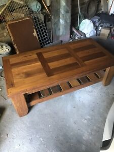 Recycled Reclaimed Wood Coffee Table