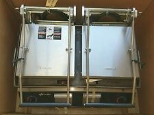 "Star GR28I-230V 28"" Pro Max 2-Sided (Smooth) Sandwich Panini Grill NEW IN CRATE!"