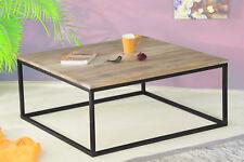 Couchtisch 75x75 cm Wohnzimmertisch Tisch Beistelltisch Massivholz Kaffeetisch