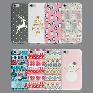 CHRISTMAS PENGUIN SNOWMAN PHONE CASE FOR IPHONE 7 8 XS XR SAMSUNG S8 S9 PLUS