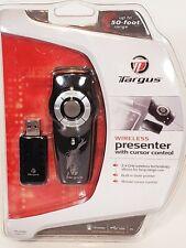 Targus Wireless Presenter With Cursor Control Built In Laser Pointer