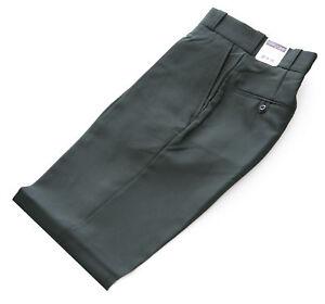 """FLYING CROSS Men's Dark Green UNHEMMED """"Visa System 3"""" Uniform Pants #34206 NEW"""