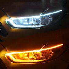 LED Strip Turn Signal Switchback Indicator Daytime Running Light DRL-60cm