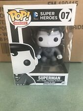 Funko Pop - DC Super Heroes #07 Superman (B&W) Vaulted