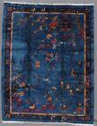 antique art-deco chinese carpet   #9284 9.00x11.6