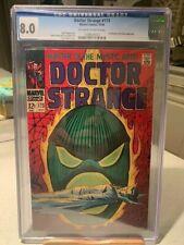 DOCTOR STRANGE #173 CGC 8.0! DORMAMMU! ROY THOMAS GENE COLAN  DAN ADKINS 10/1968