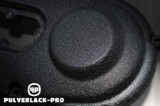 Pulverlack RAL 9005 schwarz matt wrinkle 500g Beschichtungspulver Powder Coating