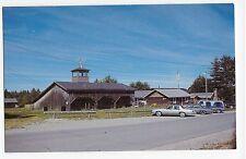 Patten ME Maine Lore Rogers Logging Museum Complex Vintage Postcard