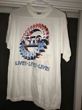 1987 BTO Bachman Turner Overdrive Taking Care Of Business Tour T Shirt+autogrpah