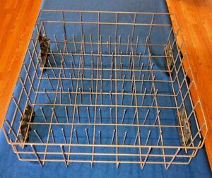 Kitchenaid Dishwasher Lower Bottom Rack W10525645 W10315890 Gray Plastic Metal