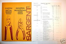 Sargent Pliers Custom & Special Design Industrial & Professional Hand Tool Rr383