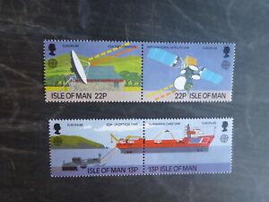 ISLE OF MAN 1988 TECHNOLOGY & COMMUNICATION SET 4 MINT STAMPS