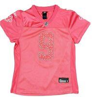 Reebok NFL Youth New Orleans Saints Drew Brees Jersey Pink US Size XL 119208