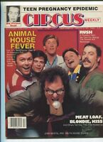Circus Feb 27 1979 Debbie Harry Poster Rush Meat Loaf Animal House   MBX97