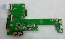 Dell Inspiron 1570 USB Audio HDD Board 04H3H8 DA0UM2PI6C0 Fast Shipping (307)