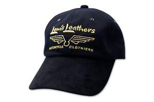 Adjustable Lewis Leathers Embroidered Cap 100% Cotton Mens Ladies