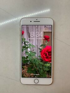 iPhone 8 Plus Gold 256GB Unlocked A1897 GSM (AT&T)