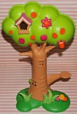 """LALALOOPSY MINI DOLL TREE HOUSE REPLACEMENT PIECE TREE DOUBLE SIDED 14"""" TALL"""