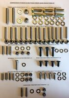 LAMBRETTA COMPREHENSIVE ENGINE CASING CRANKCASE REBUILD FIXING KIT S2 S3 TS1 RB
