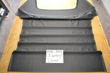 1970 70 1971 71 DODGE DUSTER & DEMON BLACK HEADLINER 6 BOW USA MADE TOP QUALITY