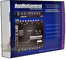 AudioControl THREE.2 IN-DASH PRE-AMP EQUALIZER SUBWOOFER CROSSOVER New THREE.2