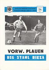 DDR-Liga 82/83 ZEPA acero contribución-ASG hacia adelante opinamos, 26.03.1983
