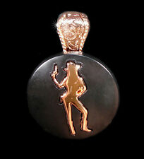 Western Cowgirl Jewelry Copper Cowgirl Concho Pendant Kit 1 1/2""