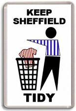 Sheffield Wednesday, Keep Sheffield Tidy Fridge Magnet Free Postage