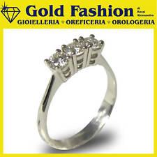 Anello in oro 18 K e diamante - Trilogy - 0,30 carati